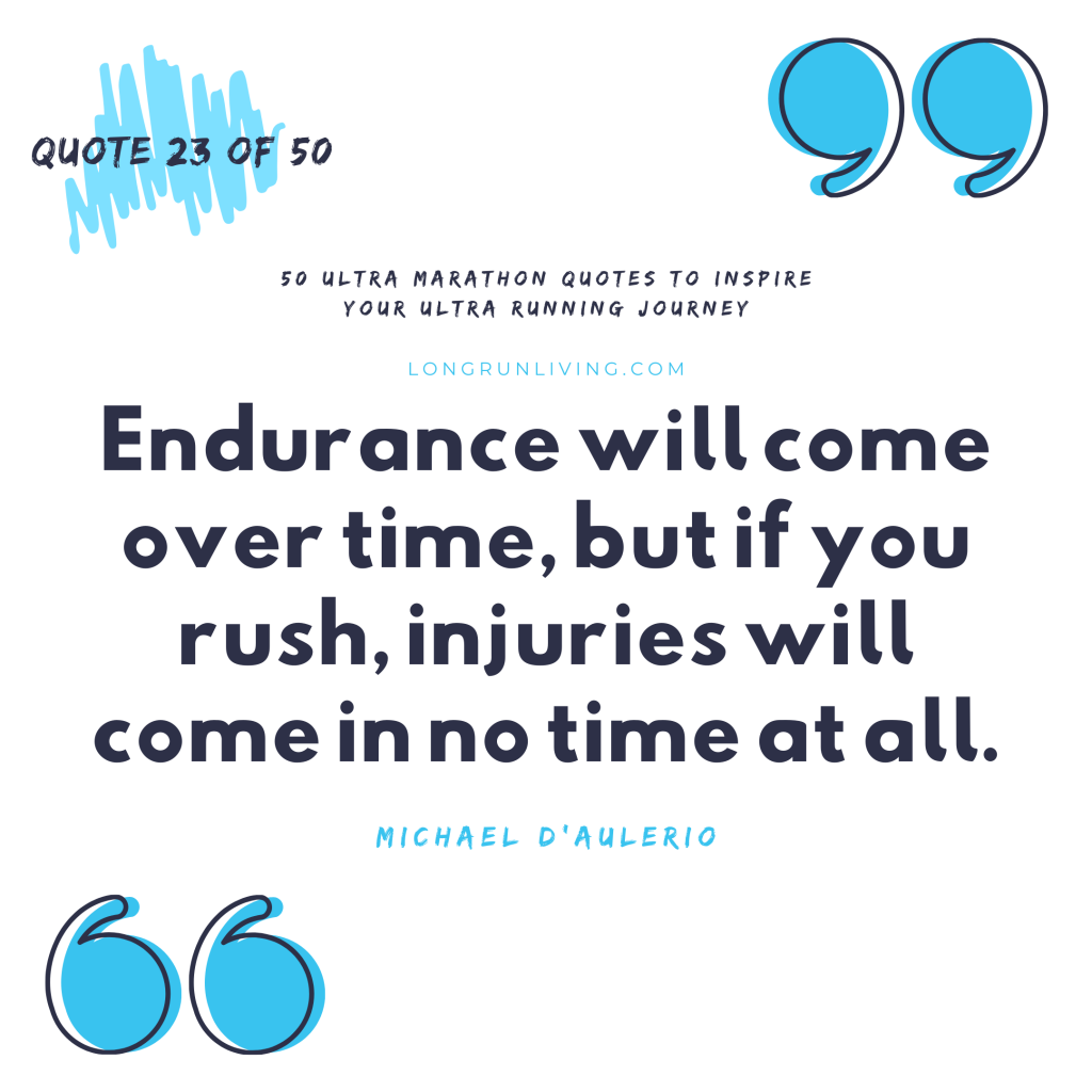 Ultra Marathon Quotes #22 // Long Run Living