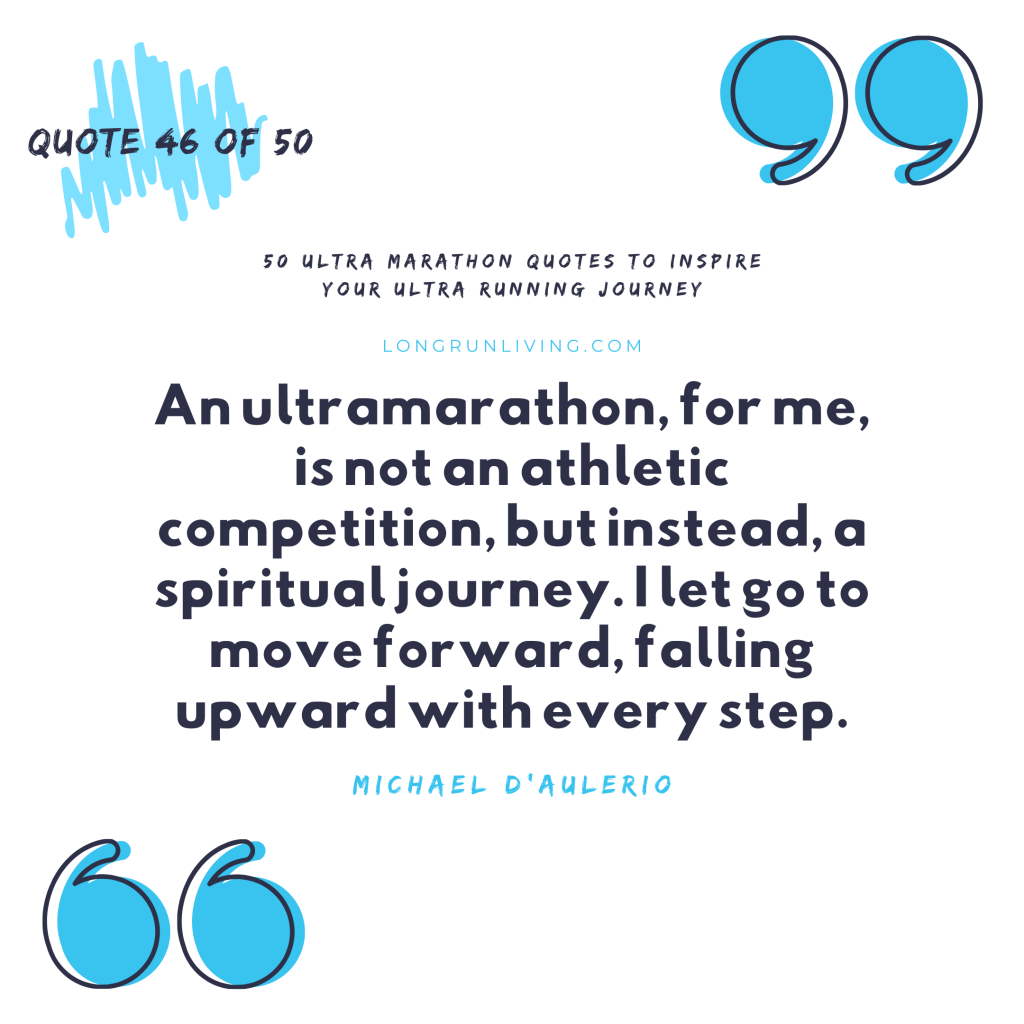 Ultra Marathon Quotes #46 // Long Run Living