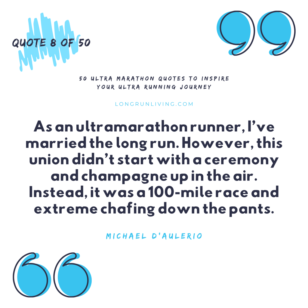 Ultra Marathon Quotes #8 // Long Run Living